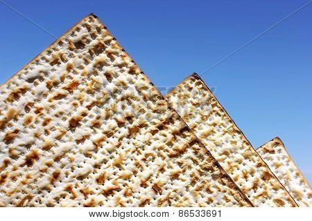 Matzo As The Egyptian Pyramids