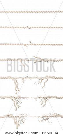 Rope in progress