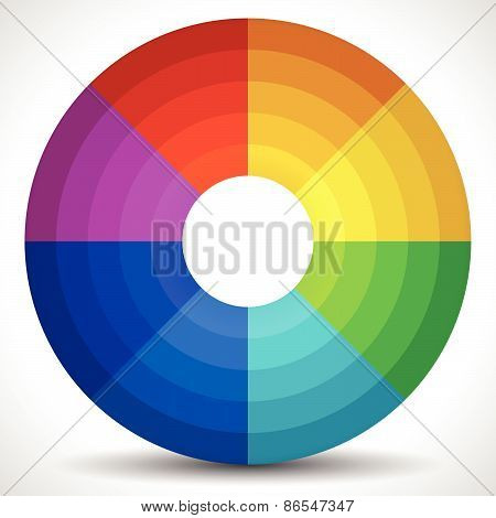 Circular Color Wheel / Color Palette