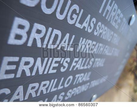 Trail Names