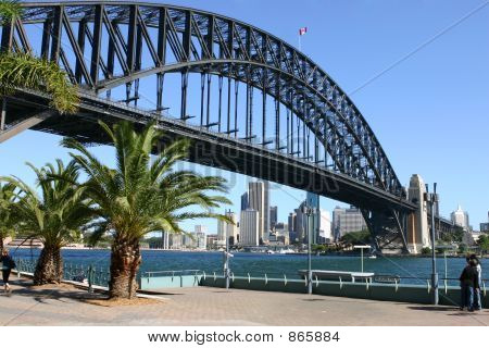Sydney Harbour and Sydney Harbour Bridge