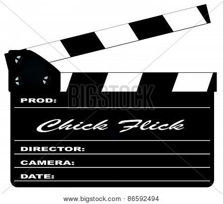 Chick Flick Clapperboard