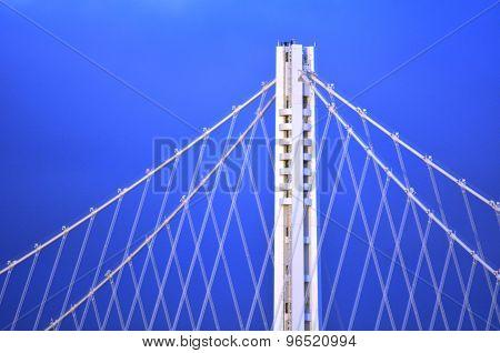 New Oakland Bay Bridge In San Francisco - California