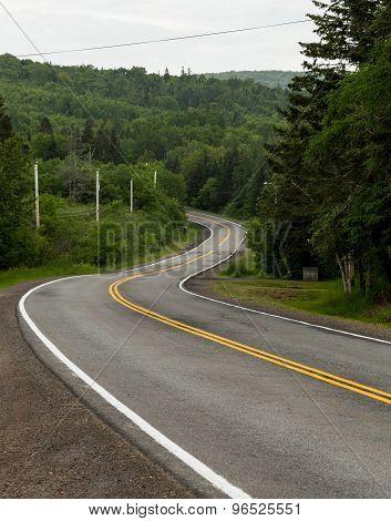 Windy Roads In Cape Breton