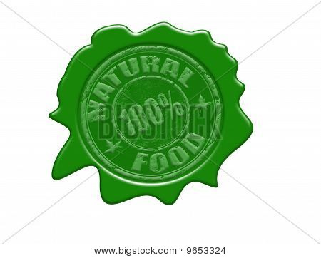 Natural Food Wax Seal