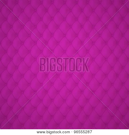 Purple Capitone Upholstery Pattern