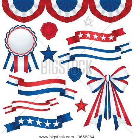 Patriotic Emblems