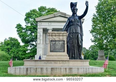 Altar To Liberty: Minerva
