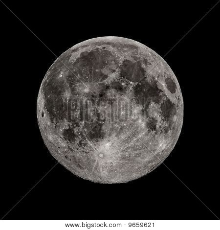 Full Moon Of The Fall Equinox In All Its Glory