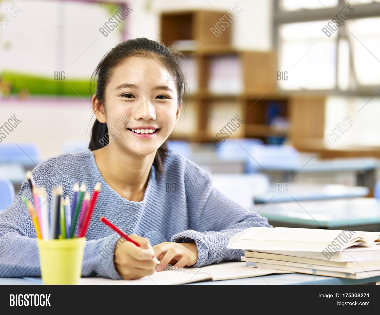 Asian student cam