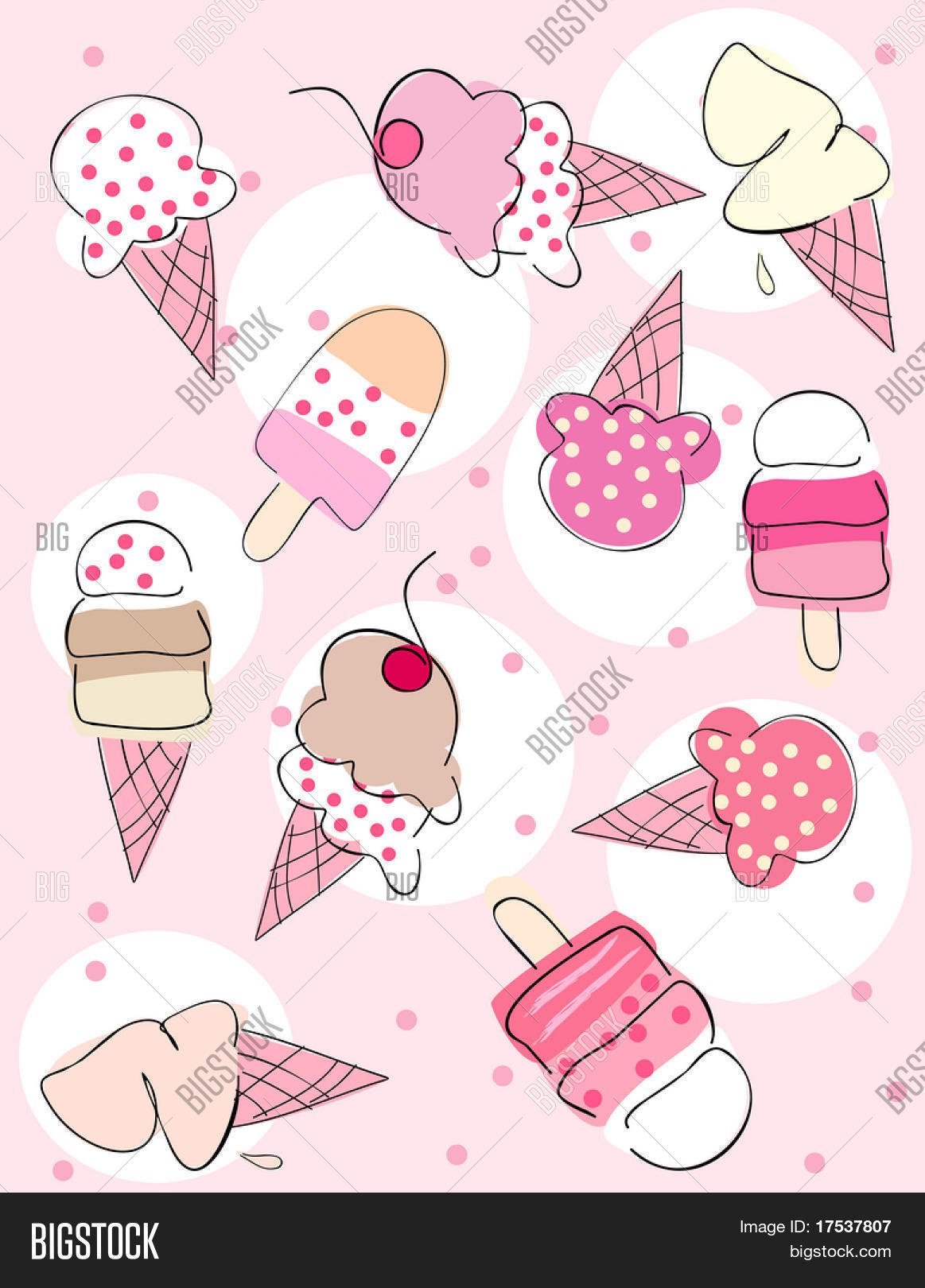 Ice Cream Background Vector Photo Free Trial Bigstock Check out our ice cream background selection for the very best in unique or custom, handmade pieces there are 1204 ice cream background for sale on etsy, and they cost $4.16 on average. ice cream background vector photo
