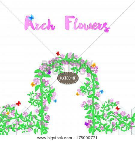 Arch Flower