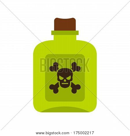 Poison icon isolated on white background vector illustration
