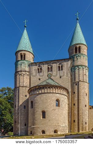 St. Cyriakus is a medieval church in Gernrode Saxony-Anhalt Germany. It is one of the few surviving examples of Ottonian architecture built in 969