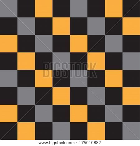 Abstract chess squares geometric pattern. Vector illustration