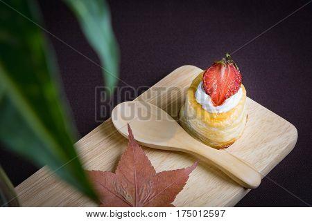 Vol Au Vent Strawberry