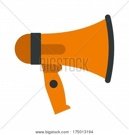 Mouthpiece icon isolated on white background vector illustration