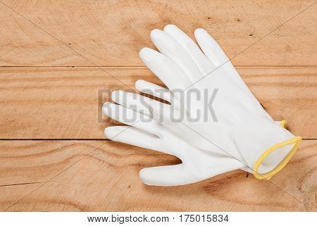 White Antistatic Gloves