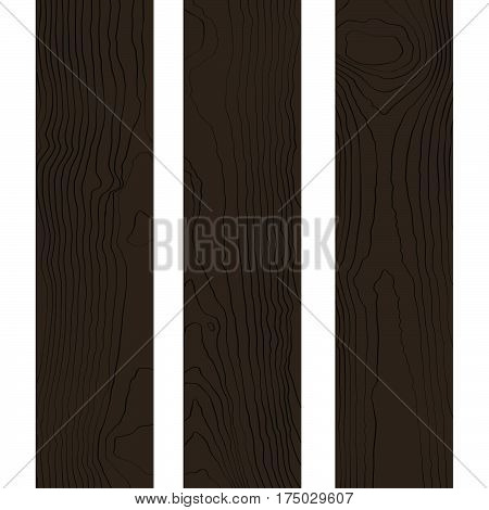 Vector Colored Wood Boards Texture .