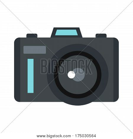 Photocamera icon isolated on white background vector illustration