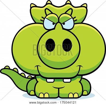 Cartoon Devious Triceratops
