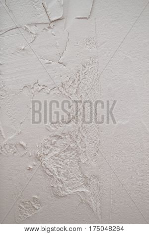 A white plaster texture surface for background