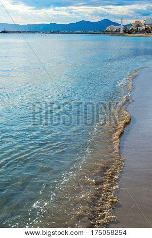 Mallorca Can Picafort beach in Spain
