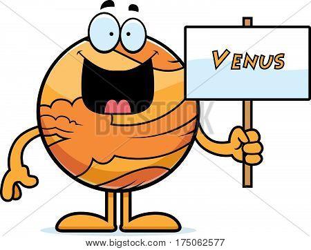 Cartoon Venus Sign