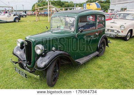 1934 Green Austin Carl