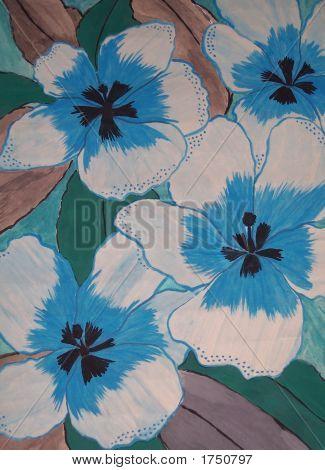 Wild Blue Flower