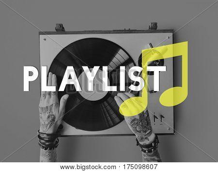 Playlist Song Music Leisure Enjoyment