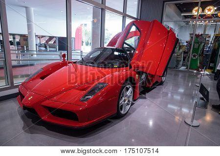 Classic Red Ferrari