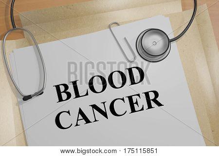 Blood Cancer - Medical Concept