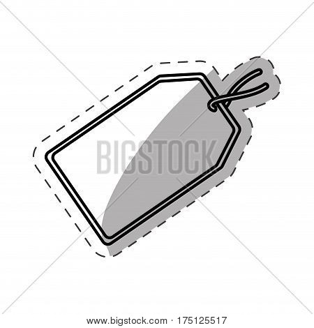 tag price discount cut line vector illustration eps 10