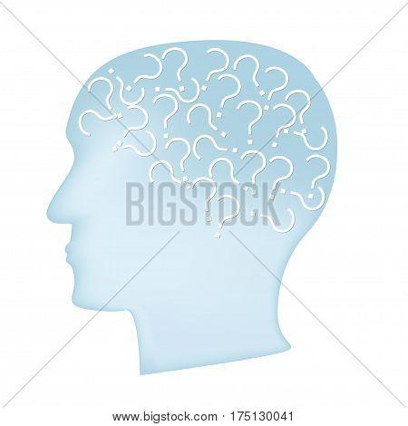 Alzheimer Disease Concept