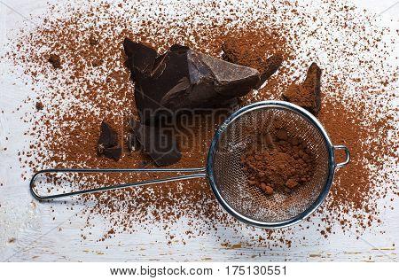 Cocoa Solids And Cocoa Powder