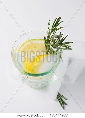 Lemon Fizz In A Glass