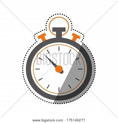 Sport chronometer timer icon vector illustration graphic design