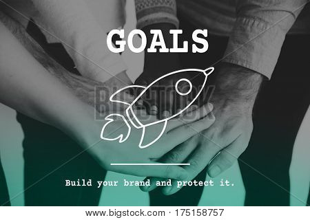 Business Goals Aim Success Entrepreneur