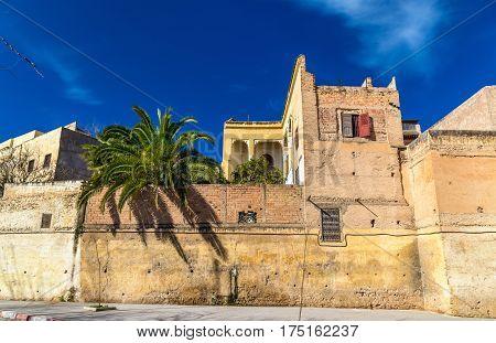 Buildings in the medina of Fez - Morocco