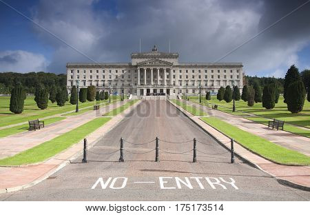 Stormont Northern Ireland Government Buildings National Assembly