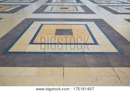 Trocadero esplanade Paris soil marble detail