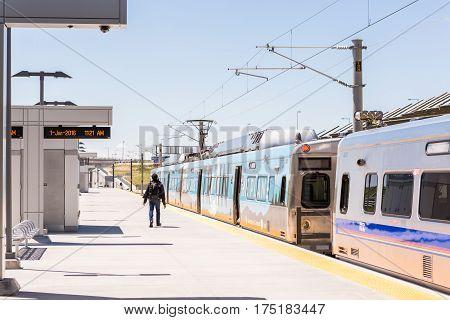 Light Rail Train