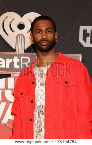 LOS ANGELES - MAR 5:  Big Sean at the 2017 iHeart Music Awards at Forum on March 5, 2017 in Los Angeles, CA