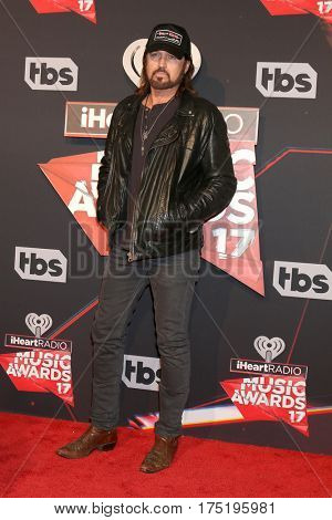 LOS ANGELES - MAR 5:  Billy Ray Cyrus at the 2017 iHeart Music Awards at Forum on March 5, 2017 in Los Angeles, CA