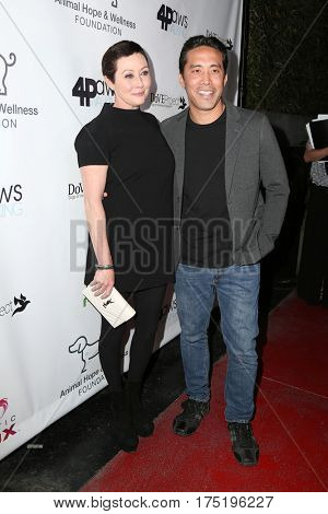 LOS ANGELES - MAR 4:  Shannen Doherty, Marc Ching at the Animal Hope And Wellness Foundation's 1st Annual Gratitude Gala at the W Hollywood on March 4, 2017 in Los Angeles, CA