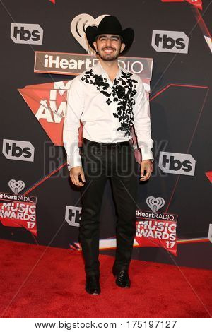 LOS ANGELES - MAR 5:  Joss Favela at the 2017 iHeart Music Awards at Forum on March 5, 2017 in Los Angeles, CA