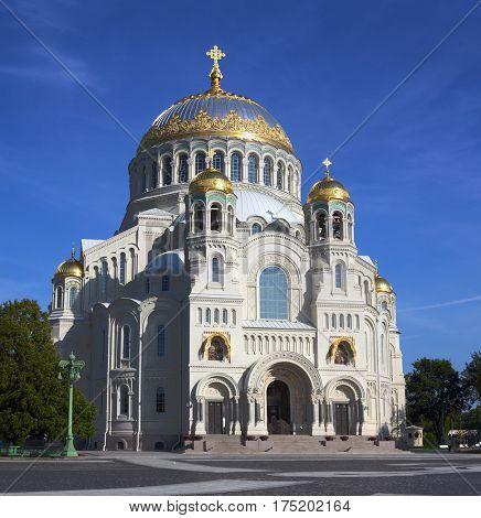 Naval Cathedral in Kronstadt - Saint-petersburg Russia