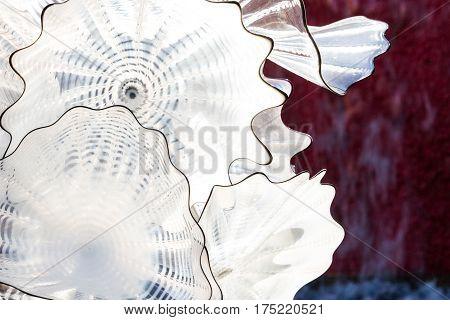 Large Glass Sculpture