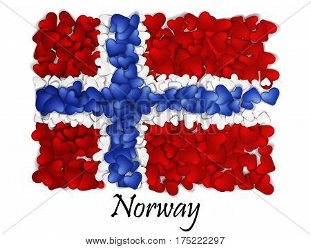 Love Greenland. Flag Heart Glossy. With love from Greenland. Made in Greenland. Greenlandic national independence day.